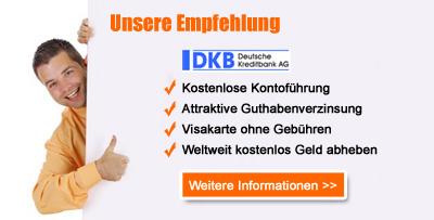Weitere Informationen zum DKB Konto